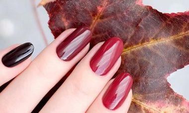 Zselés műköröm minták őszre