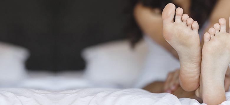 sarkallja a lábujjak kezelése között